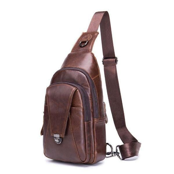 Mens Vintage Crossbody Bag