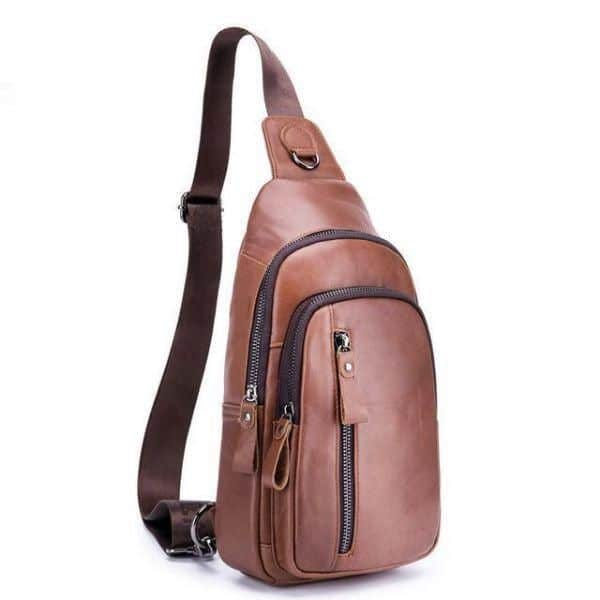 Mens Waterproof Crossbody Bag