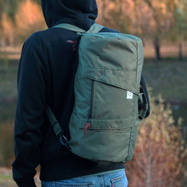 Nylon Weekend Bag
