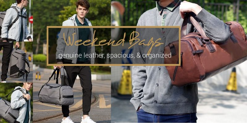 41 Best Men's Weekend Bags | Genuine Leather, Spacious, Highly-organized!