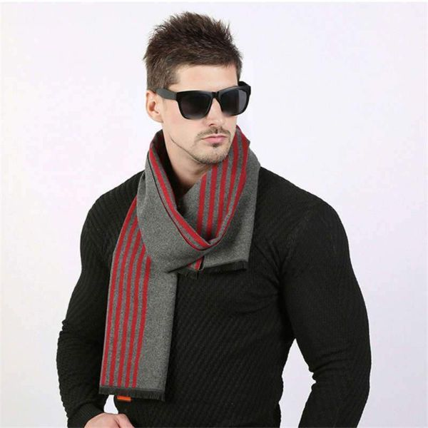 Wool Mens Scarf
