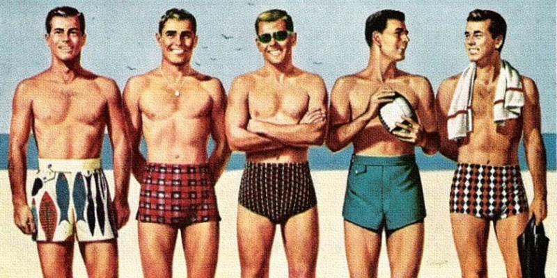 how to wear swim shorts
