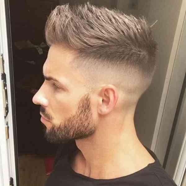 Fade Haircuts For Guys With Beard