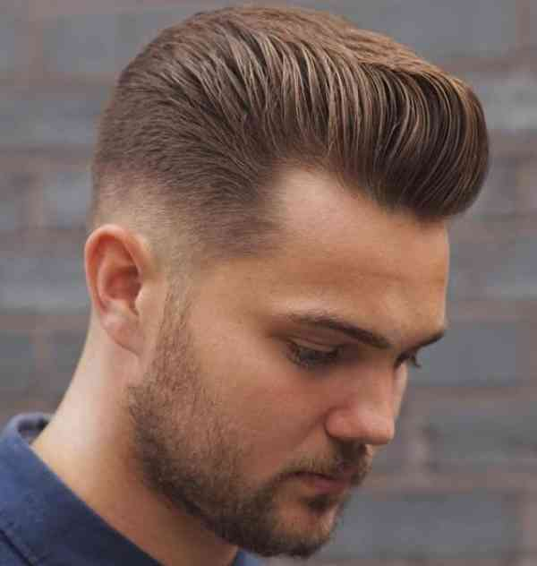 Fade Haircuts For Round Faces