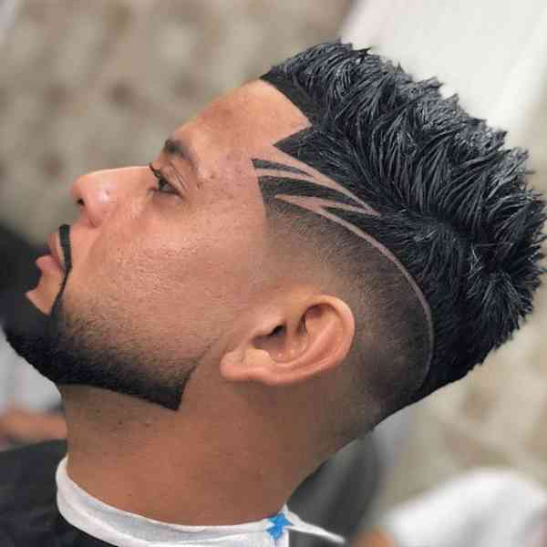 Fade Haircuts With Designs