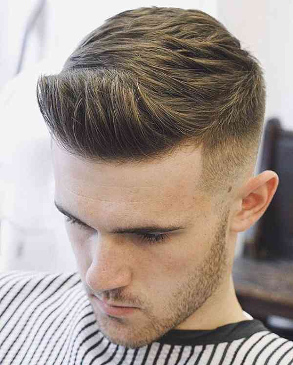 Fade Haircuts With Line
