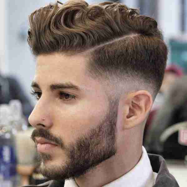 Fade Haircuts With Waves