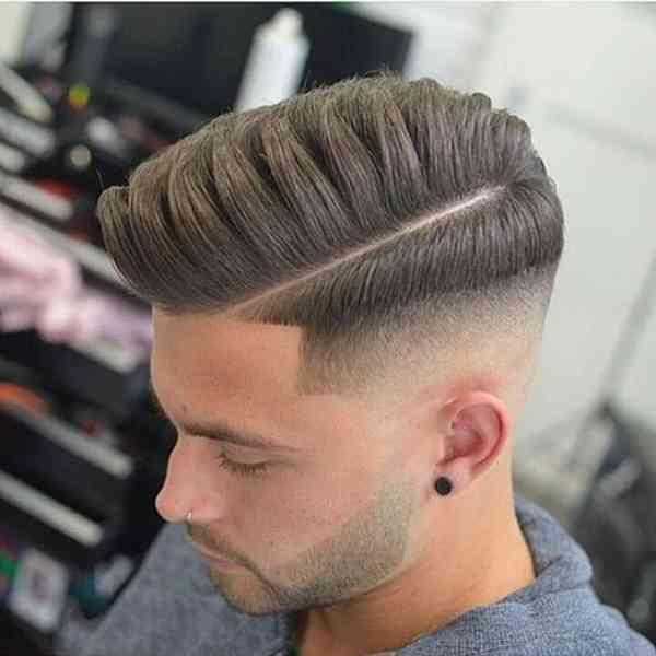 Half Fade Haircuts