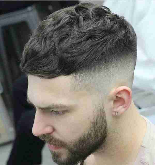 Long Hair Fade Haircuts
