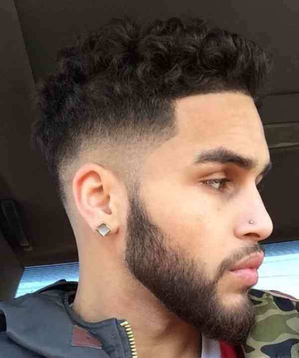 Mens High Fade Haircuts