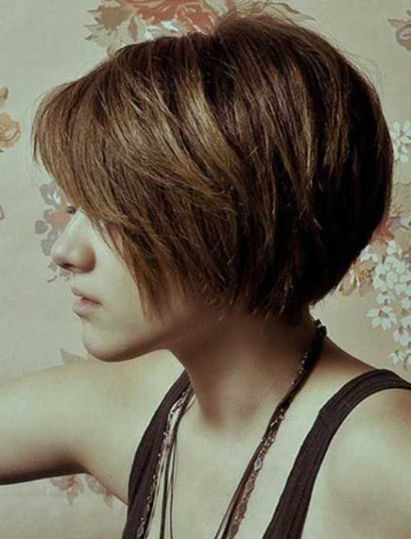 Short Haircuts Asian Girls