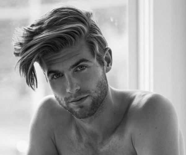 mens long hairstyles short sides