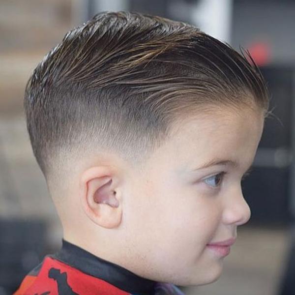 small boy hair style