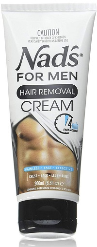 Nads for Men Hair Removal Cream 6.8 oz Pack of 2