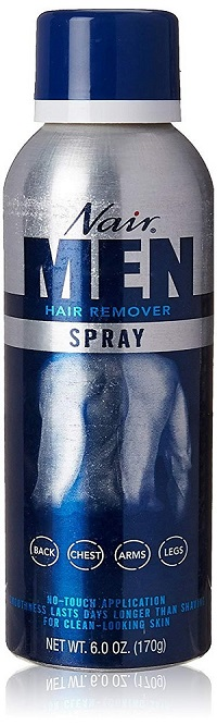 Nair Mens Hair Removal Spray 6.0 Oz