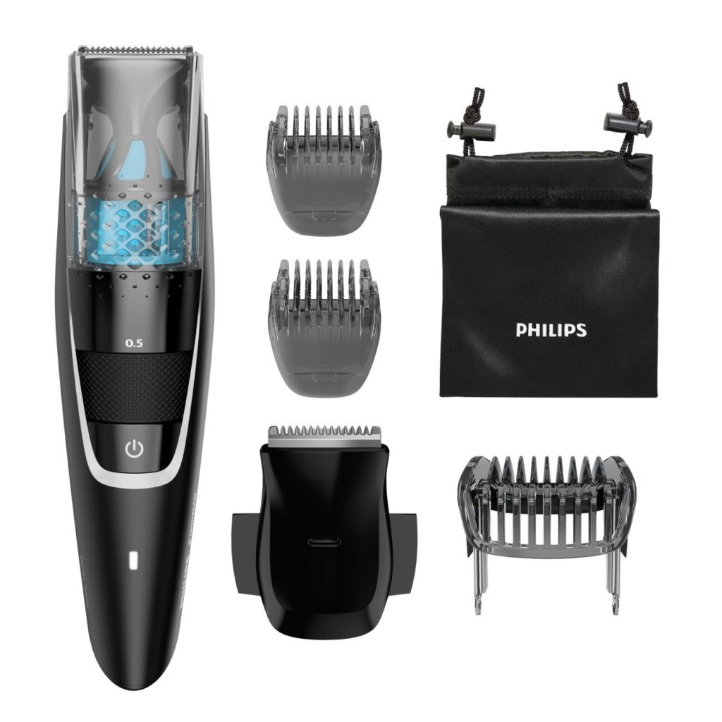 Philips Norelco Beardtrimmer 7200 with Vacuum BT7225