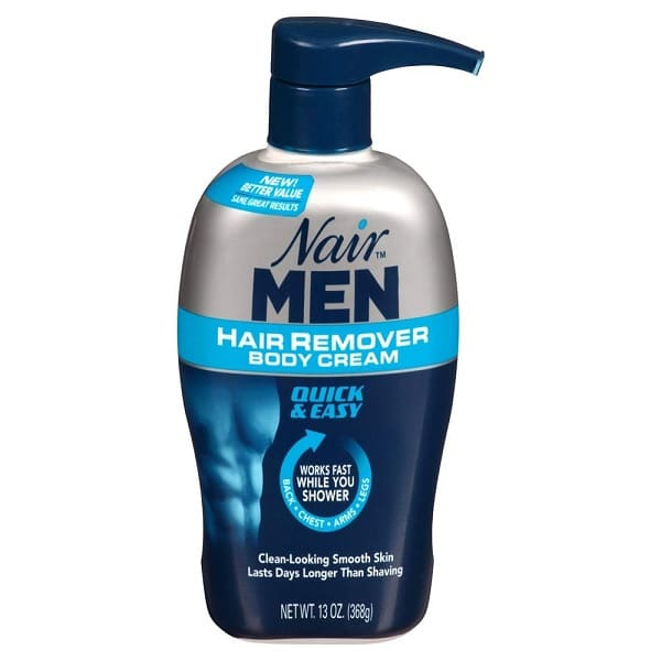 Nair Hair Remover Men Body Cream 368 ml Pump