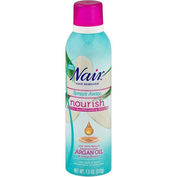 Nair Sprays Away Moroccan Argan Oil 7.5 Oz