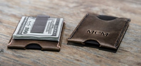 money clip wallet men
