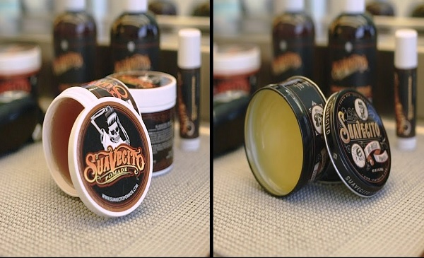 water based oil based pomade