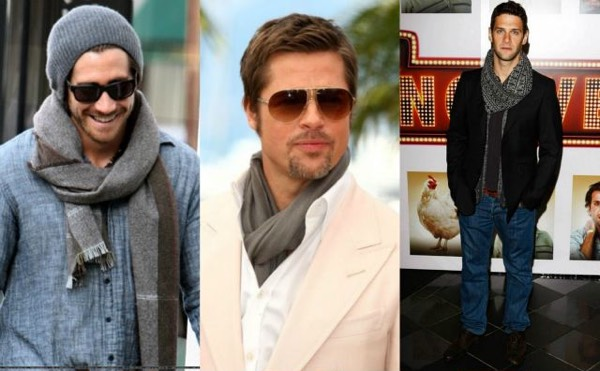 winter scarfs for men