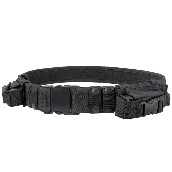 Condor Heavy Duty Tactical Belt with Pistol and Mags Holder