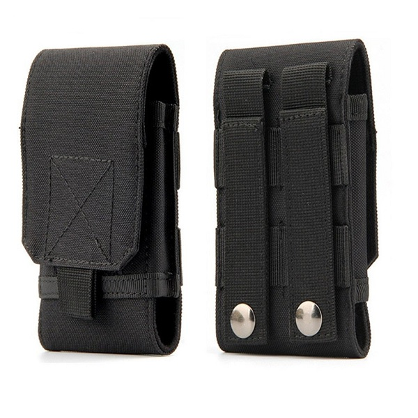 Universal EDC Tactical MOLLE Holster Mobile Phone Belt Pouch