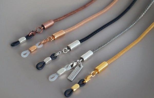 snake skin sunglass chain strap