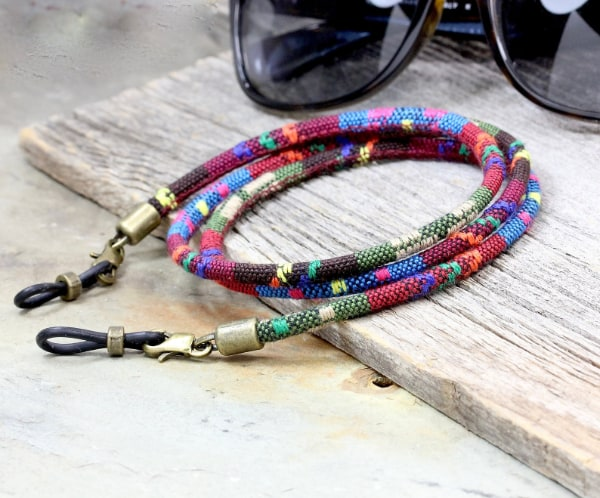 tribal hipster eyeglass strap