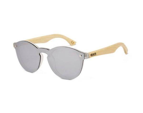 mens sand bamboo sunglasses